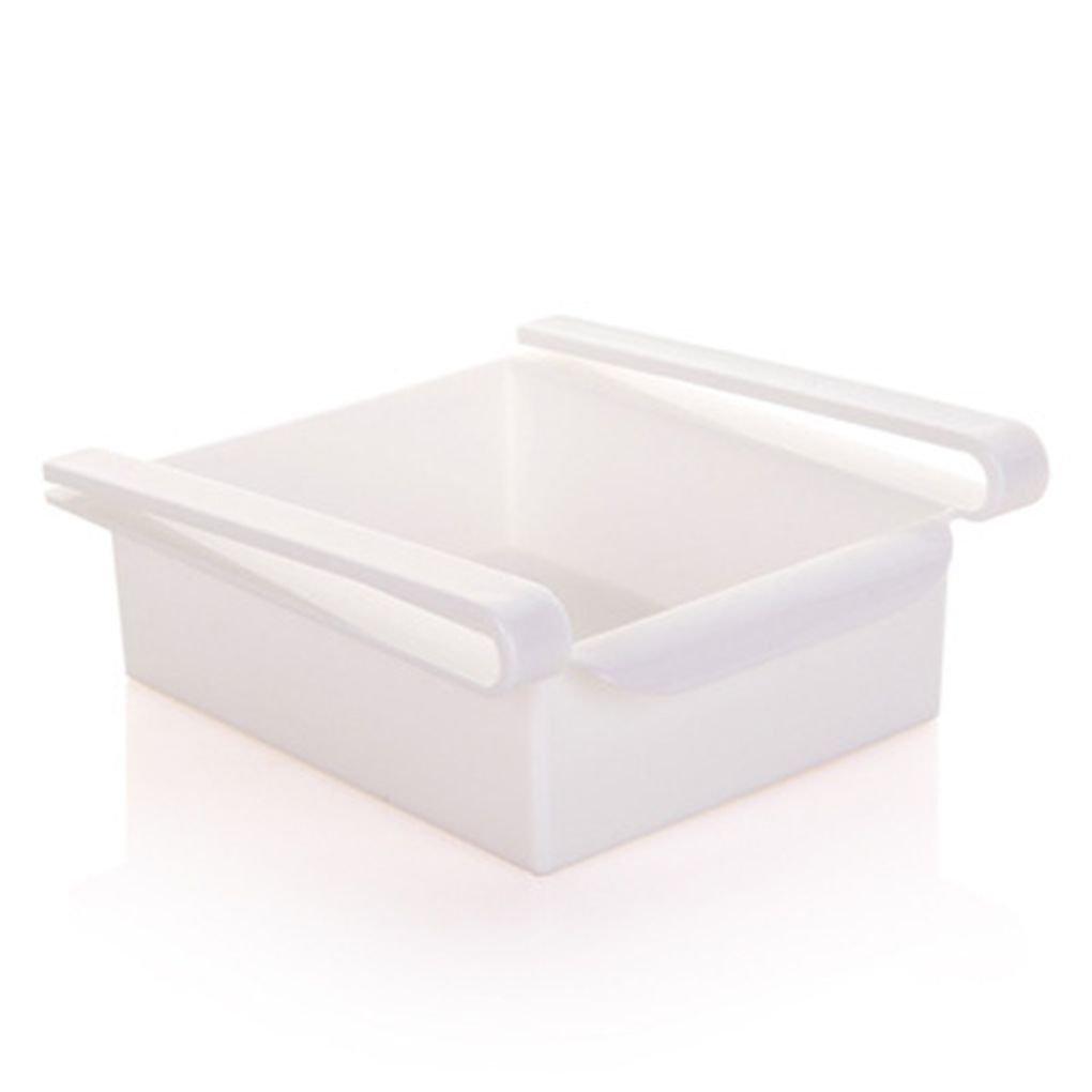 Multi Funci/ón ABS Nevera Caja de Almacenamiento de cajones deslizantes Dise/ño Caja de Almacenamiento fgyhty