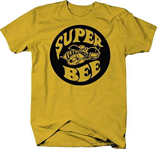 Super Bee Racing Charger Challenger Ram Racing Mopar Dodge Color Tshirt - Small