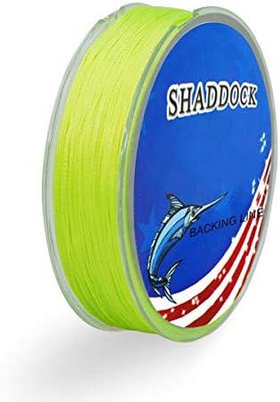Shaddock釣り1パック20lb 100M Fly Fishing Backingライン耐摩耗性編組ワイヤBacking Lines Backing Fly Tackleライン釣り機器ツール