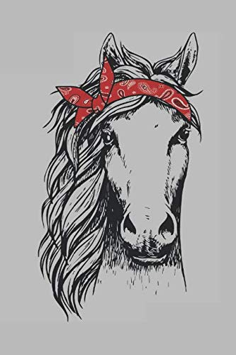 Horse Bandana: Journal Notebook Diary for Horse and