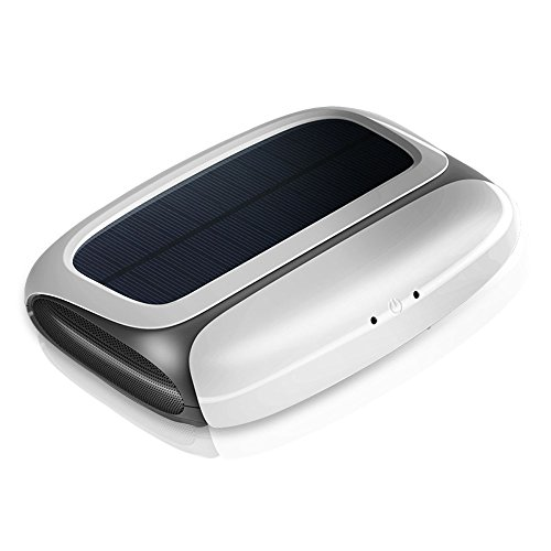 New Intelligent Solar power car air purifier Automotive Aromatherapy Oxygen bar Disinfect In addition to smoke