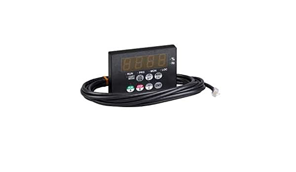 Schneider Electric VW3A21101 - Mando a distancia para disco de velocidad variable (cable de 3,6 m): Amazon.es: Industria, empresas y ciencia