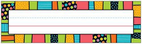 Carson Dellosa Styling Stripes Nameplates (Carson Design Plain)
