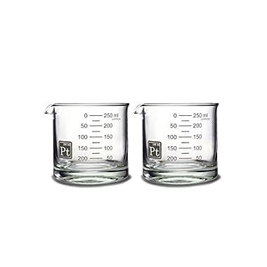 Periodic Tableware Heavy Base Beaker Rocks Glasses ... (2)
