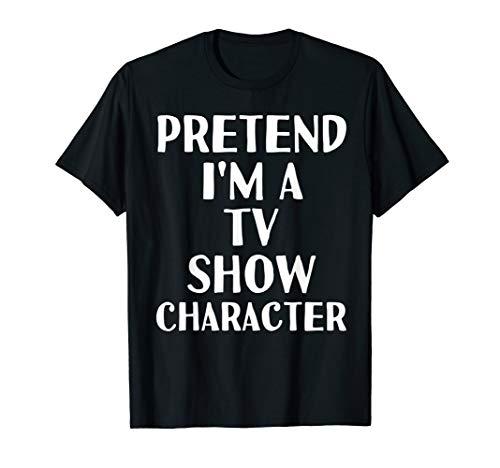 Diy Tv Character Halloween Costumes (PRETEND I'M A TV SHOW CHARACTER Funny Halloween DIY Costume)
