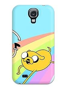 Hot 4151578K83996316 Galaxy S4 Hybrid Tpu Case Cover Silicon Bumper Adventure Time