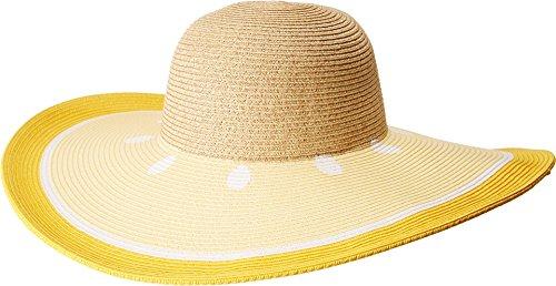 San Diego Hat Company Women's Ultrabraid Sun Brim Fruit Hat, Yellow, One Size for $<!--$35.75-->