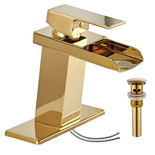 Homevacious Gold Bathroom Faucet