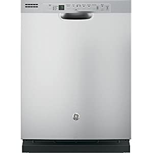 """GE GDF610PSJSS 24"""" Energy Star Built In Dishwasher with 16 Place Settings in Stainless Steel"""