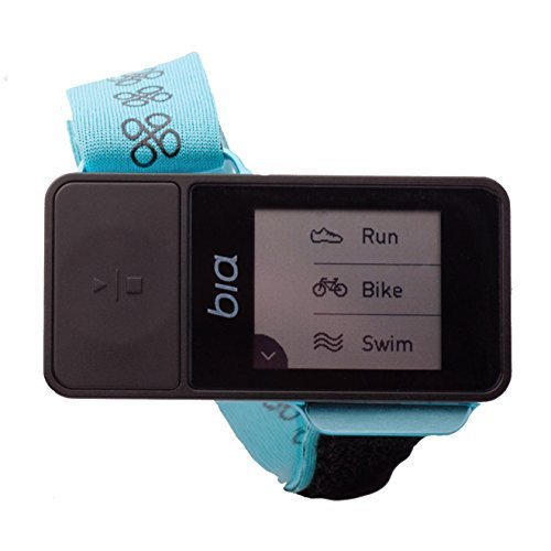 Bia Multisport GPS Watch, Pure Joy Turquoise by Bia