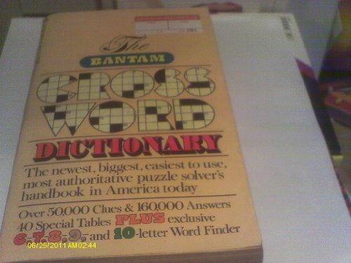 Crossword Bantam Dictionary - Bantam Crossword Dictionary