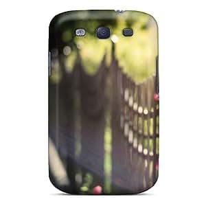 For Galaxy S3 Fashion Design Wooden Fence Case-ynNzJBs5457cgoSE