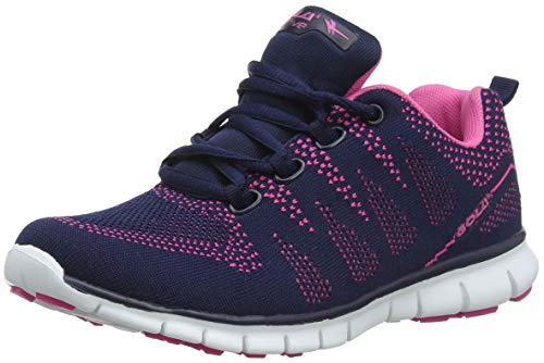 para Blue Tempe Deporte Zapatillas de Mujer Ek Gola Navy Pink qxwUIBAqR