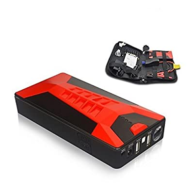 SPEED 20,000 mAh Portable Car Battery Jump Starter E-20 Hand-held Battery Charger and Emergency Power Jump Box for Electronics and Mobile Devices - Power Booster to Keep in your Car