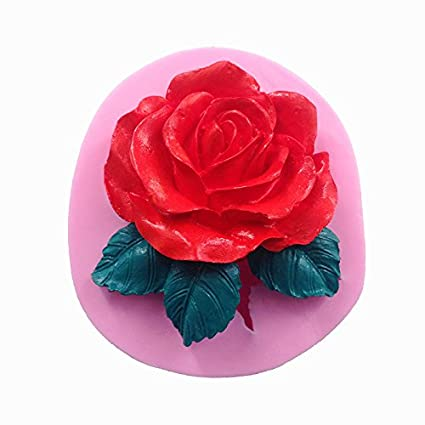 Other Baking Accessories Strong-Willed Rose Flowers Mold Fondant Cake Home Kitchen Diy Baking Pastry Decorations Tools