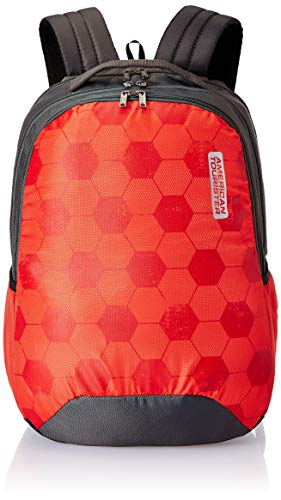American Tourister Bounce 28 Ltrs Red Casual Backpack (FR9 (0) 00 002)