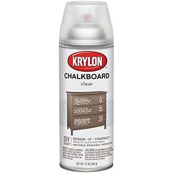 Krylon Chalkboard Aerosol Spray 12-Ounce, Clear