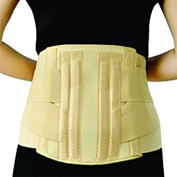 WELSO SURGICAL LUMBAR BACK BRACE WITH ADDITIONAL STRAP