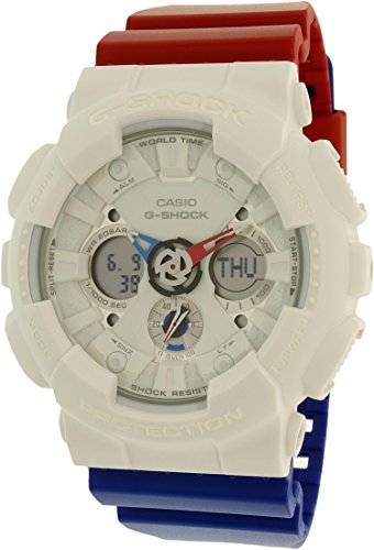 G Shock GA 120 Tri Color Watches