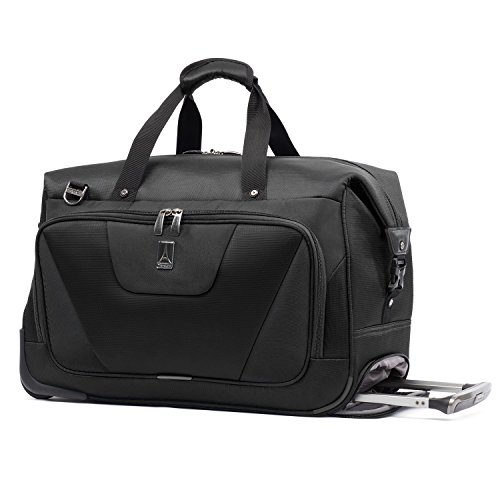 Travelpro Maxlite 4 Carry Rolling Duffel, Black, One Size by Travelpro