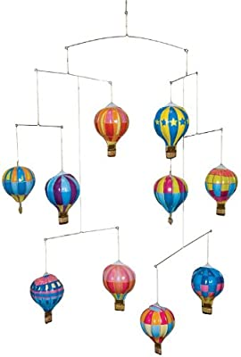 Schylling Tin Hot Air Balloon Mobile from Schylling