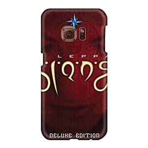Scratch Resistant Hard Cell-phone Cases For Samsung Galaxy S6 (Jtz10979eYBd) Custom Attractive Def Leppard Band Pattern