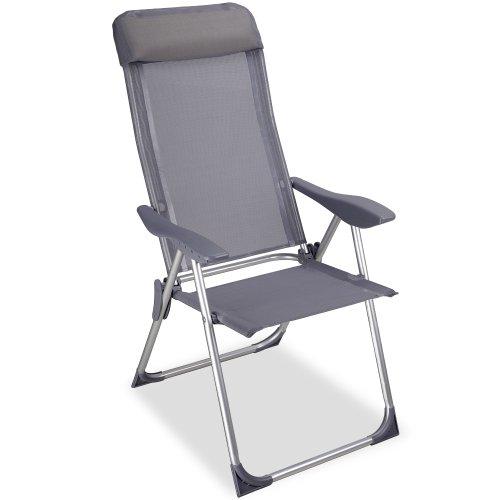tectake lot de aluminium chaises de jardin pliante avec accoudoir ... - Chaise De Jardin Pliante Aluminium
