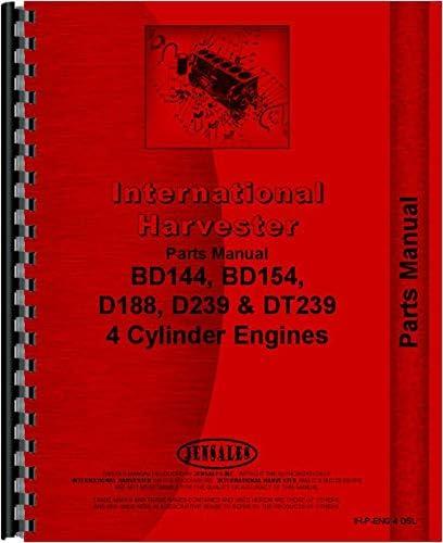 International Harvester BD144 Engine Parts Manual