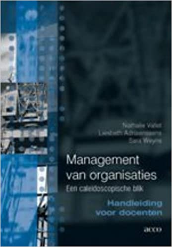Management van organisaties. Een caleidoscopische blik ...