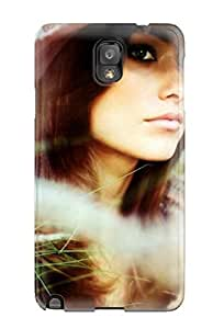 Craigmmons GBnxVBk2374aSPUo Case Cover Skin For Galaxy Note 3 (olivia Wilde Hat Summer Sun Grasss People Women)