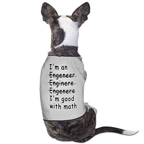LeeRa I Am An Engineer I Am Good With Math Dog Sweater