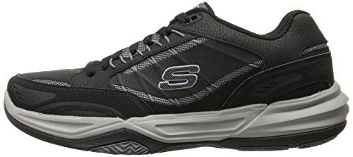 Skechers Monaco TR - Swift Step Hombre US 9.5 Negro Zapatillas UK 8.5