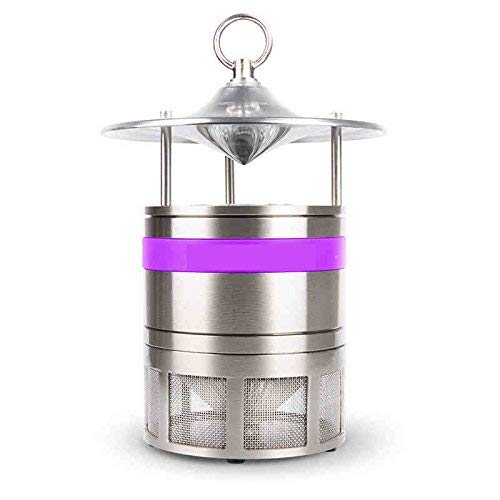 Insect Killer Light, Ultrasonic Insect Repellent Electronic Mosquito Killer Non-Toxic Mosquito Killer Aluminum Box for Indoor Outdoor Electronic Mosquito Killer Carbon Dioxide Mosquito Lamp