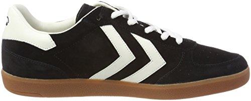 Hummel Unisex Adults' Victory Trainers, Black/White Black (Black 2001)