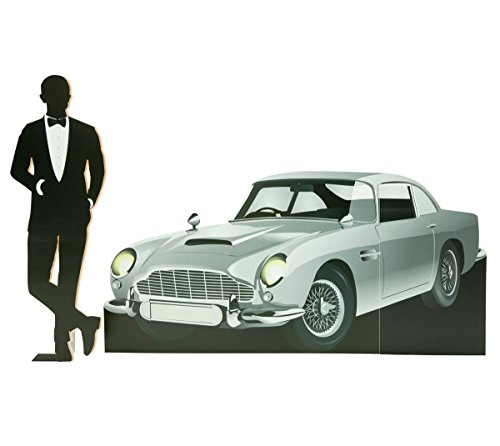 Dapper Dude and Classic Car Kit Cardboard Standup, Car - 3' 11