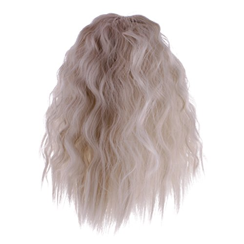 MagiDeal Fantasy Full Wig Hairpiece Hair for 12'' Blythe Doll DIY Making and Repair ACCS