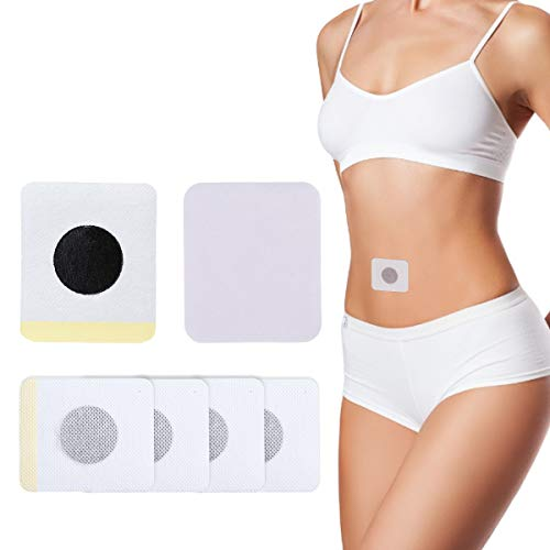 OUTERDO 40 Pcs Weight Loss Sticker Slimming Patch Magnetic Navel Sticker Slimming detox Patches Fat Burning Paste Quick…