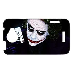 3D Print Classic Movie Series&Batman Joker Theme Case Cover for HTC One X- Personalized Hard Cell Phone Back Protective Case Shell-Perfect as gift