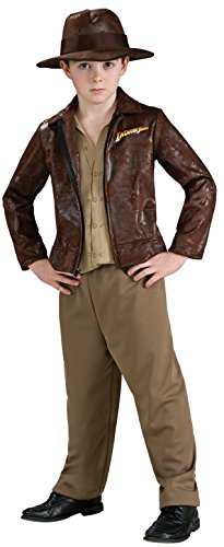 Indiana Jones and The Kingdom of The Crystal Skull Deluxe Indiana Costume, Tween Size - Deluxe Kids Indiana Jones Costumes