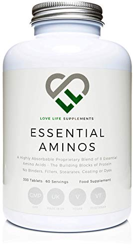 Essential Amino Acids (EAA's) by LLS | Includes All 3 BCAA's Plus 5 More...