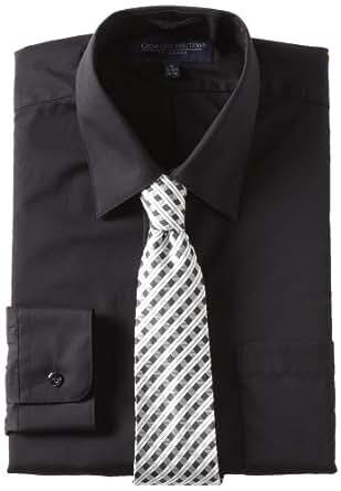 Giorgio Brutini Men S Dress Shirt And Tie Box Gift Set At