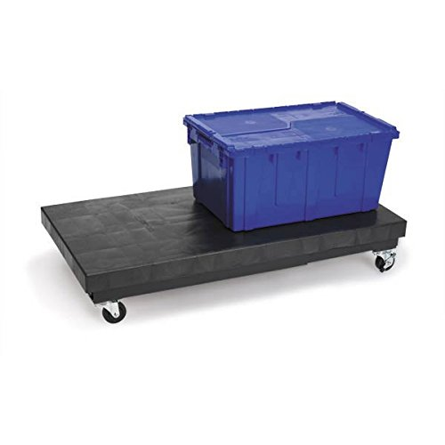 Mobile Dunnage-Rack 36''L x 24''W x 9''H 1000lb weight capacity