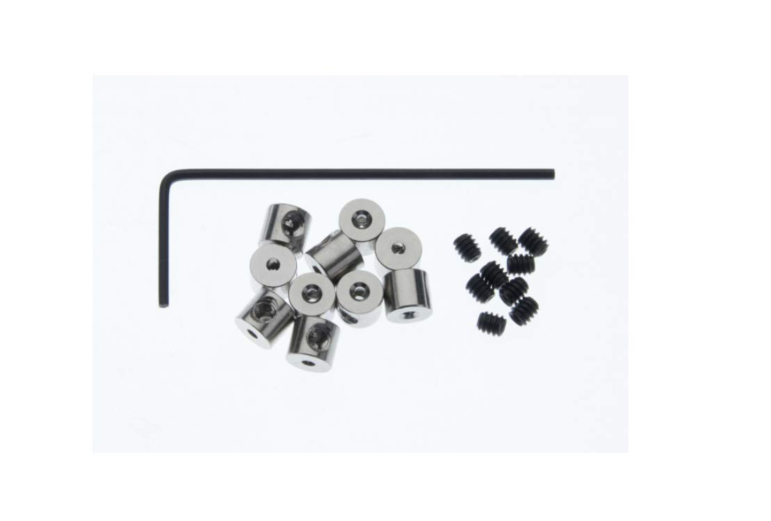 Pin Keepers with Allen Wrench 10 Pcs