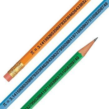 Pi Day March 14 – Pi Digits Pencils