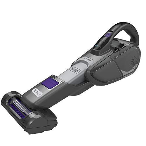BLACK+DECKER Pet dustbuster Handheld Vacuum, Cordless, Scented Filter (HHVJ325BMP07)
