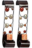 Deco 79 Metal Candle Sconce, 24 by 6-Inch, Set of 2
