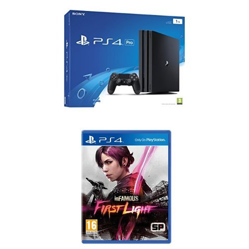 PlayStation 4 Pro (PS4) 1TB – Consola + InFamous: First Light