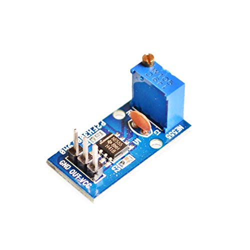 10PCS / lot Ne555調整可能な周波数パルス発生器モジュール