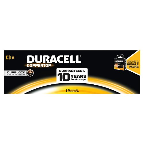 Duracell C 12 Pk For Resale by Duracell