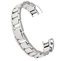 Austrake Metal Wristbands Stainless Steel Bands for Fitbit Alta Smart Watch,Silver,Black,Gold,Rose Gold